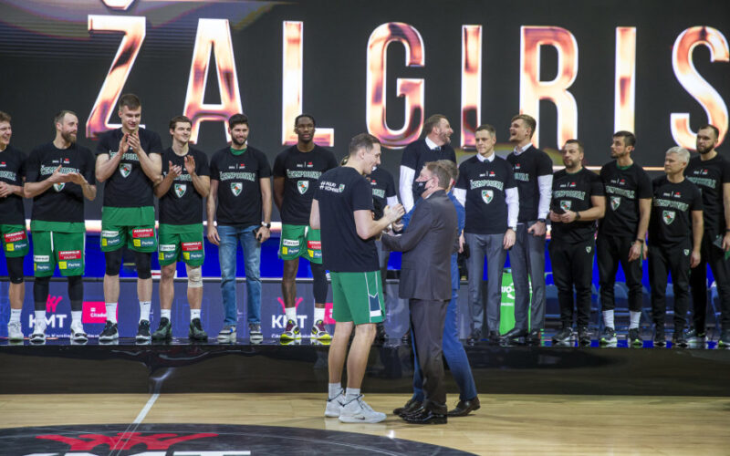 """KMT finale - """"Žalgirio"""" triumfas"""