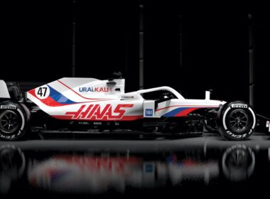 """Haas"" bolidas"