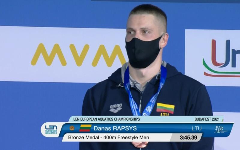 Danas Rapšys laimėjo bronzos medalį