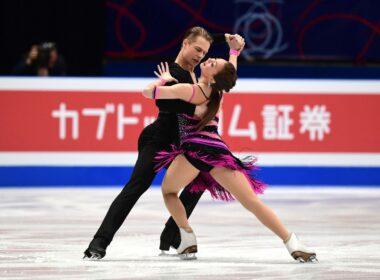 A. Reed ir S. Ambrulevičius ant ledo