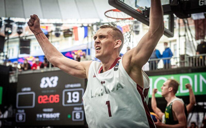 Latviai eliminavo lietuvius