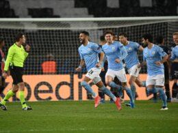 """""""Manchesterio City"""" keliauja į UEFA lygos finalą"""