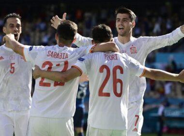 Ispanija nepasigailėjo Slovakijos