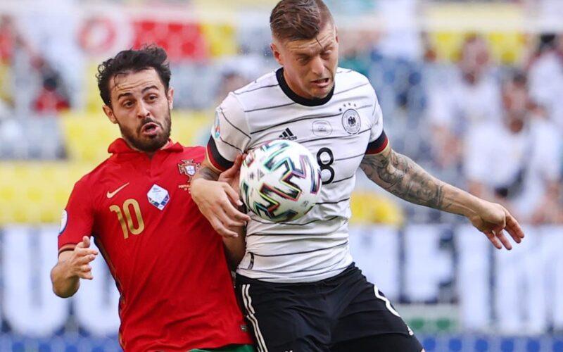 Vokiečiai sensacingai įveikė portugalus