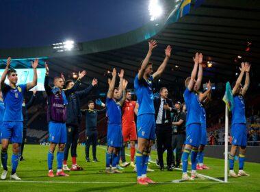 Ukraina eliminavo favoritais laikytą Švedijos rinktinę