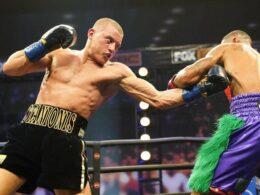 E.Stanionis kovos prieš buvusį WBA čempioną