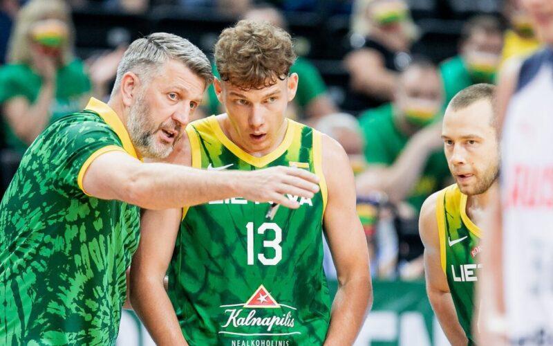 Istorinių rungtynių prieš Slovėnijos ekipą belaukiant