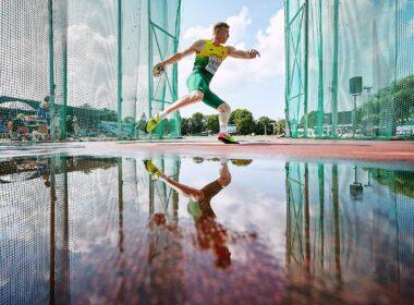 Mykolas Alekna - pasaulio jaunimo čempionas