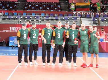Lietuvos golbolininkai pasiekė pusfinalį