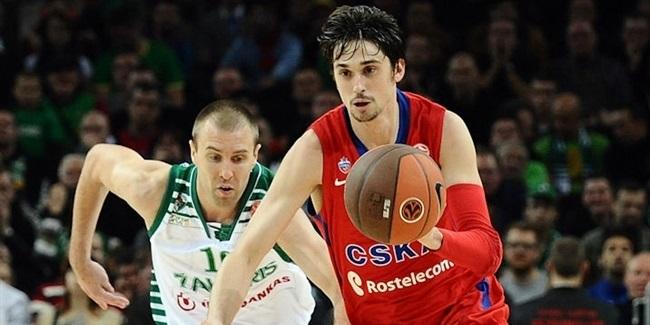 Švedas vėl prisijungė prie CSKA