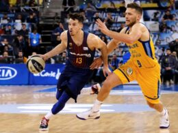 """""""Barcelona"""" pasiekė antrąją pergalę reguliariajame ACB sezone"""