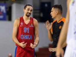 Marius Grigonis buvo tarp rezultatyviausių CSKA ekipoje