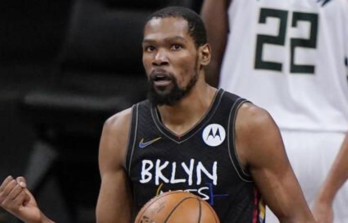 Kevinas Durantas tapo 2021 metų geriausiu NBA krepšininku