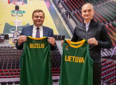 M.Buzelis kviečiamas į Lietuvos rinktinę
