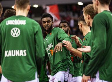 Lietuvos čempionai sieks pirmo laimėjimo Eurolygoje